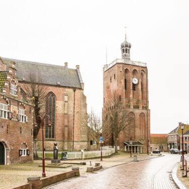 """Afbeelding van """"Grote of St. Gertrudis kerk"""""""