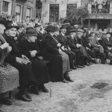 """Afbeelding van """"Oudjesdag in de jaren 50"""""""