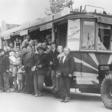 """Afbeelding van """"Workumer tram"""""""